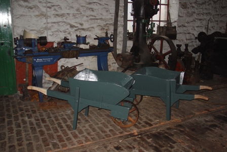 Wheel Barrows for Beamish Engine Works