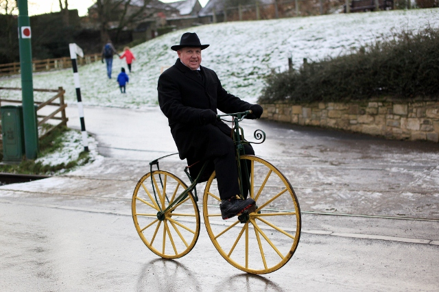 Christmas Event cycling